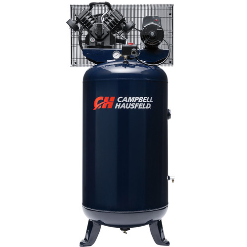 Campbell Hausfeld TQ3104 | 5 HP 80 Gallon Oil-Lube Shop Air Stationary Vertical Air Compressor | CPO Outlets