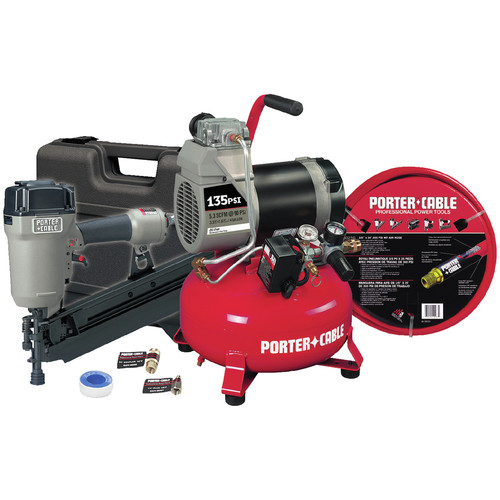 Porter-Cable CFFR350CR | Round-Head Framing Nailer and Compressor Combo Kit | CPO Outlets