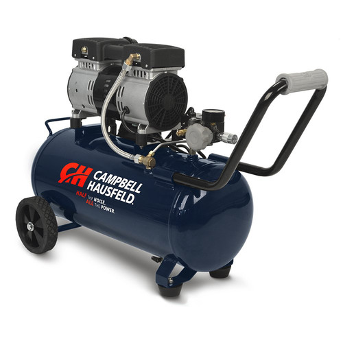 Campbell Hausfeld DC080500 | Quiet Series 1 HP 8 Gallon Hot Dog Air Compressor | CPO Outlets
