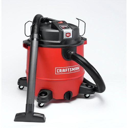 Craftsman 912009 | XSP 6.5 HP 20 Gallon Wet/Dry Vacuum Kit in Black/red | CPO Outlets