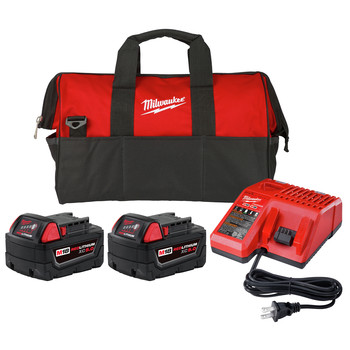 Milwaukee Li-Ion USB Rechargeable Battery /& Charger Kit,Part 48-59-2003 REDLITH