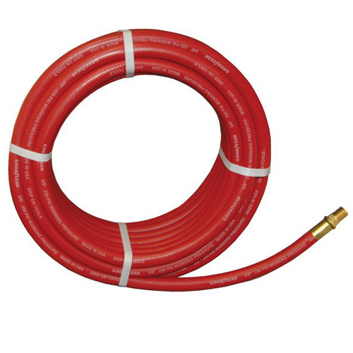 Picture of ATD 8151 GoodYear 38 in x 50 ft Two-Braid Rubber Air Hose