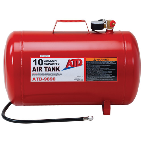 Picture of ATD 9890 10 Gallon Portable Air Tank