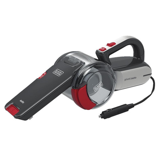 Picture of Black  Decker BDH1200PVAV 12V Pivot Automotive Hand Vacuum