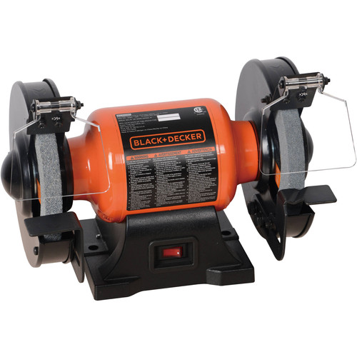Picture of Black  Decker BG1500BD 18 Amp 6 in Bench Grinder