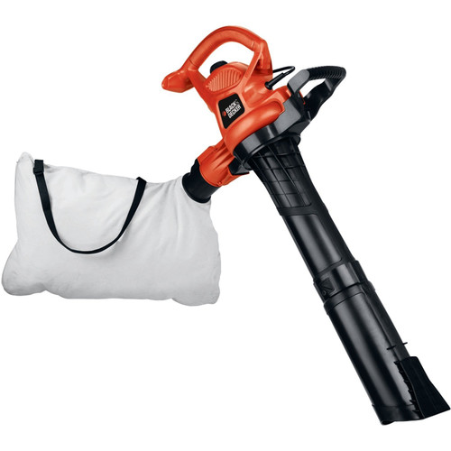 Picture of Black  Decker BV3600 12 Amp Two Speed Handheld Electric Mulcher Blower Vac