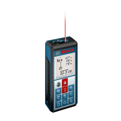 Picture of Bosch GLM100C Bluetooth Enabled 330 ft Lithium-Ion Laser Distance and Angle Measurer