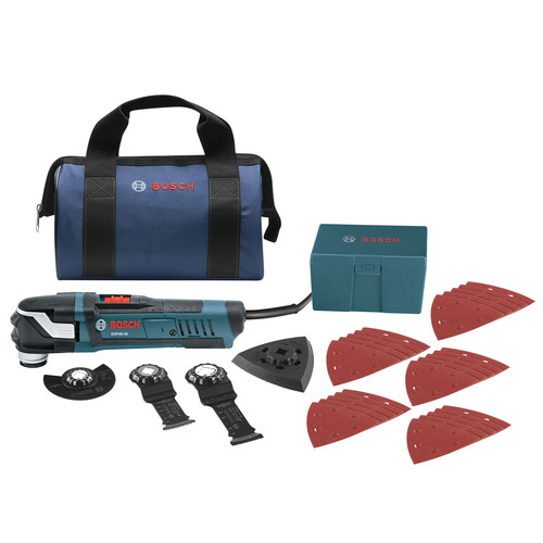 Picture of Bosch GOP40-30B Multi-X 30 Amp StarlockPlus Oscillating Tool Kit wSnap-In Blade Attachment
