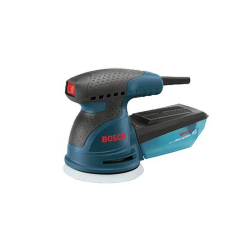 Bosch ROS20VSC 5 in. VS Palm Random Orbit Sander Kit with Canvas Carrying Bag