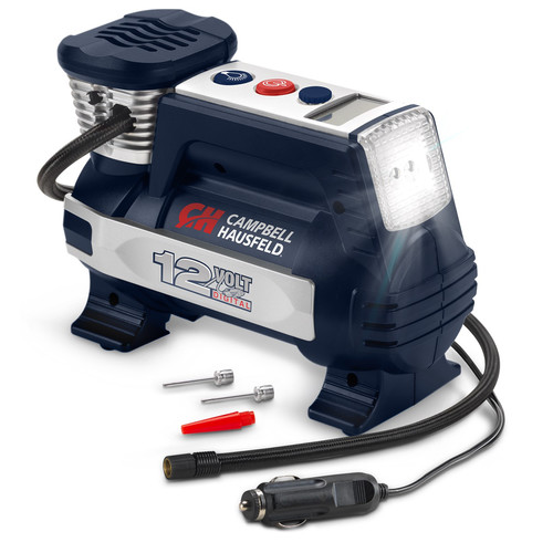 Campbell Hausfeld AF011400 12V Digital Inflator with Auto Shut-Off and Safey Light