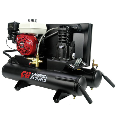 Campbell Hausfeld 5.5 HP Single-Stage 8 Gallon Oil-Lube Wheelbarrow Horizontal Air Compressor CE2000