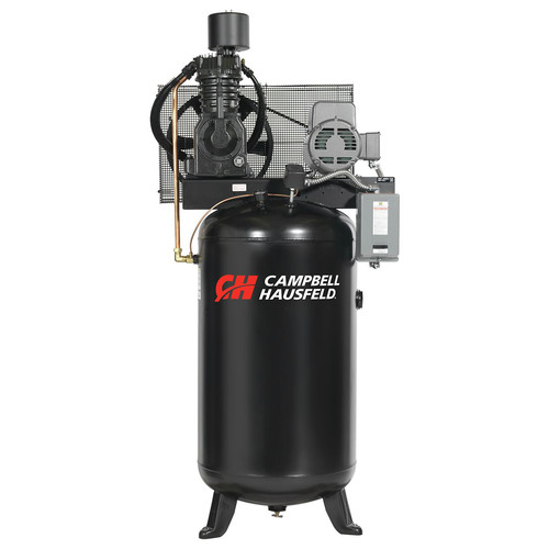 Campbell Hausfeld 7.5 HP Two-Stage 80 Gallon Oil-Lube Stationary Vertical Air Compressor CE7000