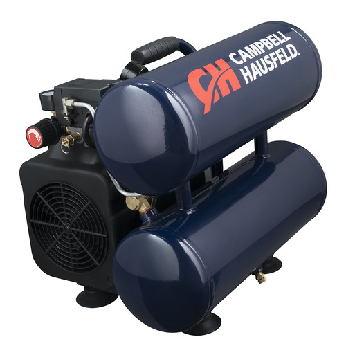 Campbell Hausfeld DC040000 4 Gallon Oil-Lube Twinstack Compressor