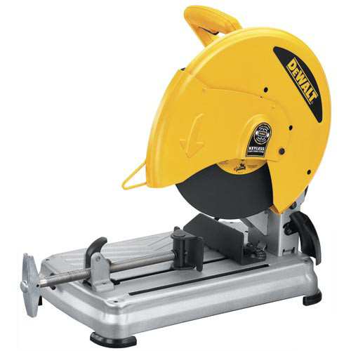 Picture of Dewalt D28715 14 in Chop Saw with Quick-Change System