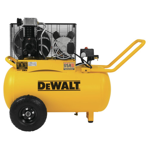 Dewalt 20 Gallon 200 PSI Portable Horizontal Electric Air Compressor DXCM201