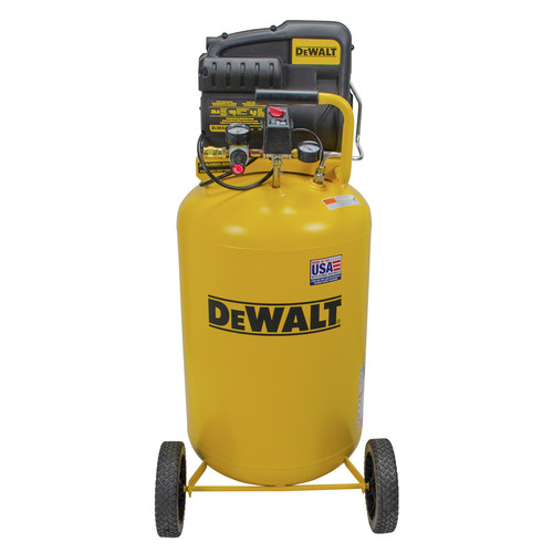 Dewalt 120V 30 Gallon Oil-Free Vertical Air Compressor DXCMLA1983012