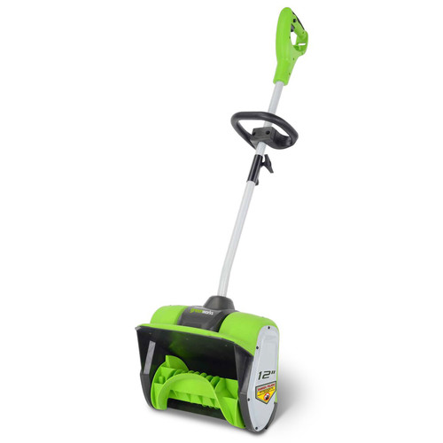 Picture of Greenworks 2600802 8 Amp 12 in Electric Snow Shovel