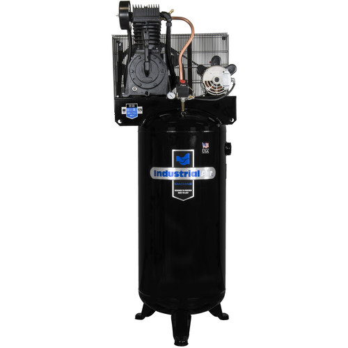 Industrial Air 5 HP 60 Gallon Two-Stage Air Compressor with Century Motor (No Mag Starter) IV5076055