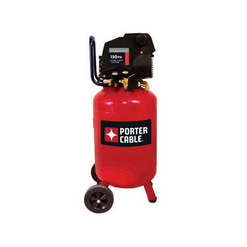 Porter-Cable 1.5 HP 20 Gallon Oil-Free Vertical Portable Air Compressor PXCMF220VW
