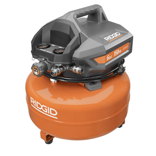 Ridgid ZROF60150HA 6 Gallon Portable Electric Pancake Compressor