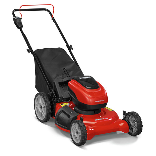 Snapper SP58V 58V 5.2 Ah Cordless Lithium-Ion 21 in. 3-in-1 Push Lawn Mower 967947301