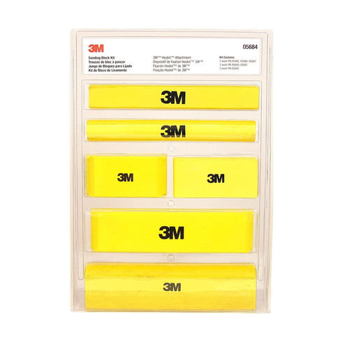Picture of 3M 5684 Hookit Sanding Block Kit